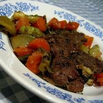 receta gatimi per pergaditjen e biftekut te zier me perime