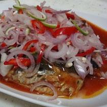 receta gatimi per pergaditjen e sallates me peshke