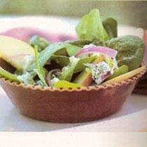 receta gatimi per pergaditjen e sallaates me spinaq dhe molle