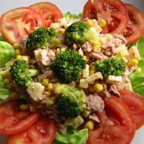 receta gatimi per pergaditjen e sallates me ton e brokoli