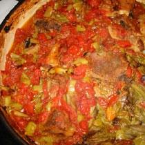 receta gatimi per pergaditjen e taves me mish qengji dhe perime