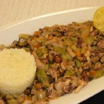 receta gatimi per pergaditjen e frutave te detit te perziera