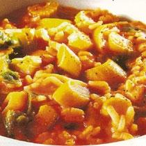 receta gatimi per pergaditjen e gjellës me presh, selino e domate