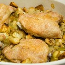receta gatimi per pegaditjen e kofshes pule me molle