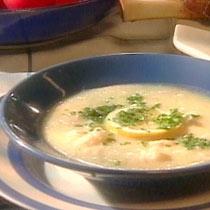 receta gatimi per pergaditjen e supes orizi me veze dhe me limone