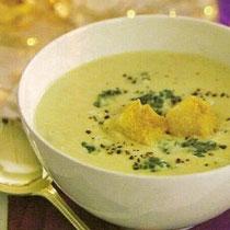 receta gatimi per pergaditjen e supes me brokoli dhe djathe
