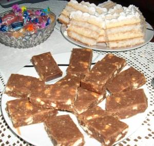 Torta me keksa