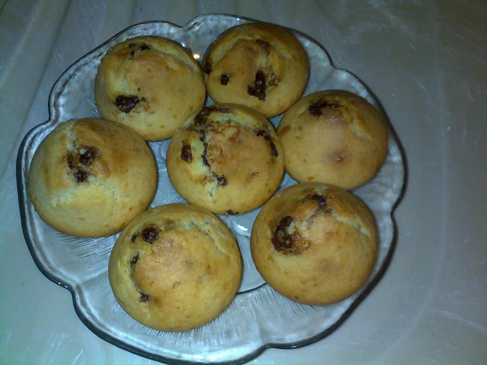 Muffins me copa cokollate