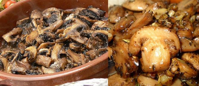 Kërpudha në tavë