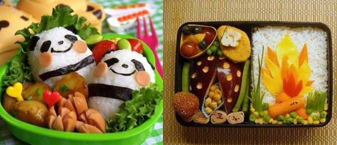 Bento Box, pjata japoneze