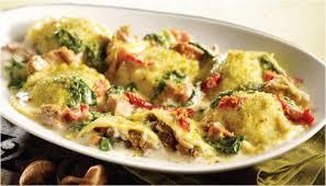 Ravioli me djathe dhe kerpudha