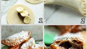 Biskota me cokollate dhe banane