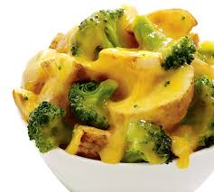 Patate me brokoli në furrë