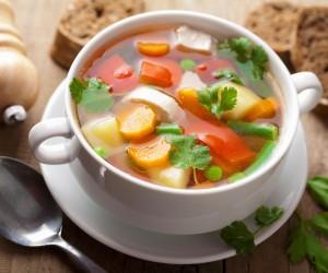 Supë diete me perime