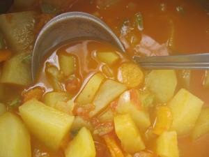 Çorbë me patate