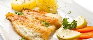 Peshk i zier me majonezë