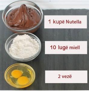 Ëmbëlsirë e thjeshtë me vetëm tre përbërës
