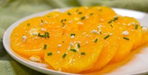 Sallatë me portokall