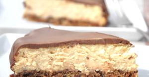 Cheesecake me keksa