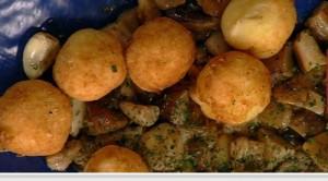 Qofte me patate dhe kërpudha