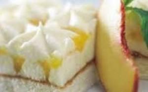 Tortë me djathë dhe mango