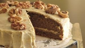 Tortë me kafe dhe arra