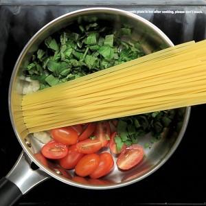Spaghetti me borzilok