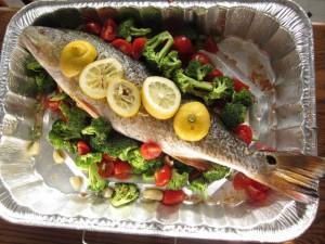 Peshk me perime