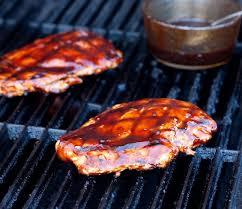 Pulë e shijshme me salc barbecue