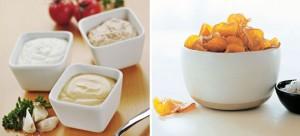 Katër salca për patate të skuqura