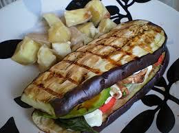 Sandwich me patëllxhan