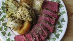 Lakër dhe biftek i kripur