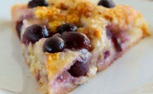 Pica me rrush, djathë dhe arra