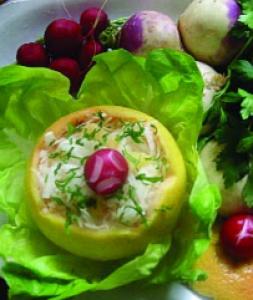 Sallatë me aromë grejpfruti