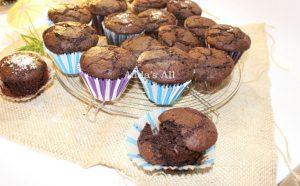 """Muffin"" çokollate me miell dhe arrë kokosi"