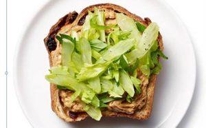 Tost dietik integral me gjethe selinoje