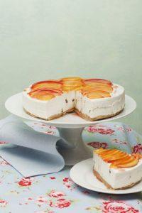 Cheesecake me nektarina