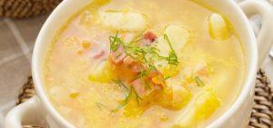 Supë klasike me mish pule