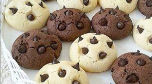 Gurabija me copëza çokollatë